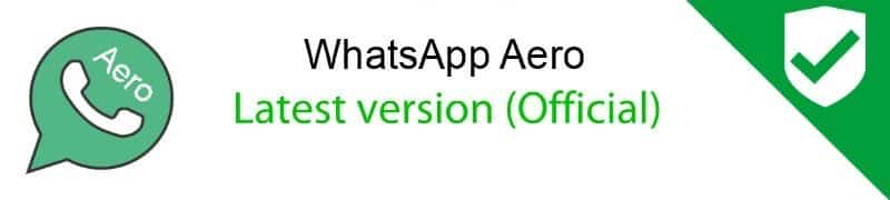 Whatsapp aero latest version