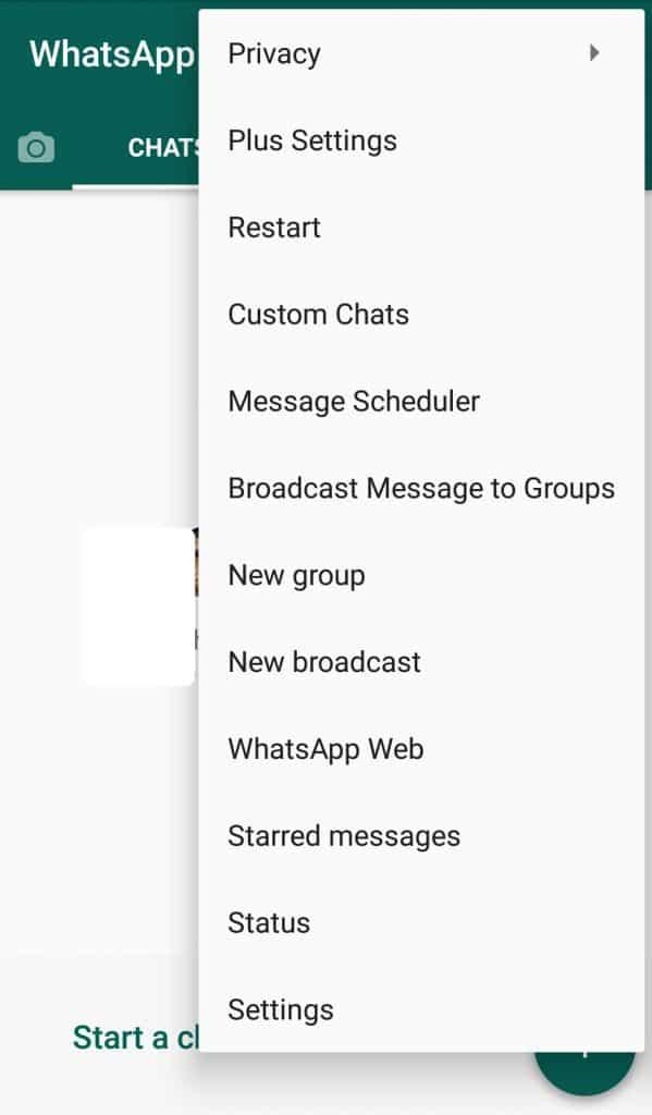 Whatsapp plus what's new