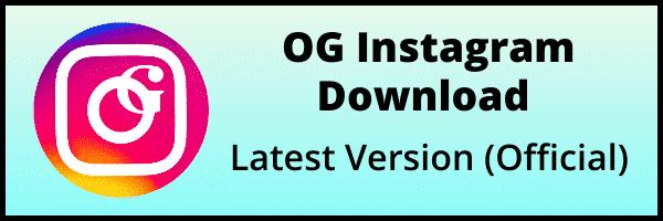 OGInstagram latest version