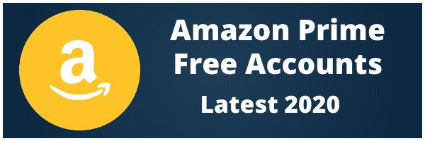 amazon prime free accounts
