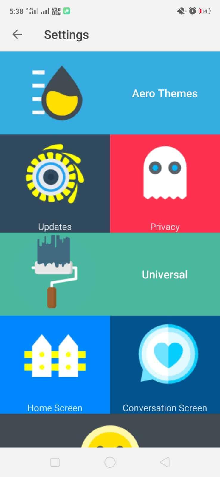 whatsapp aero features