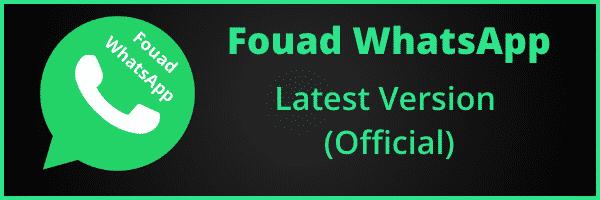 Fouad whatsapp latest version