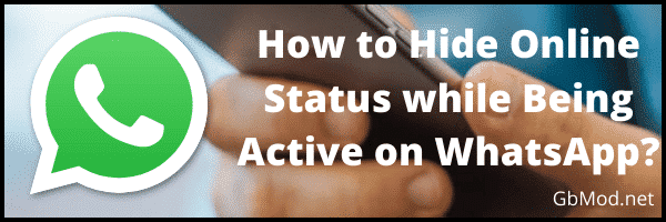 How to hide online status in WhatsApp