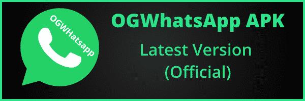 ogwhatsapp latest version